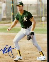 MARK MCGWIRE JSA AUTHENTICATED SIGNED 8X10 PHOTO AUTOGRAPH