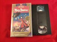 VHS Tape Disney Mary Poppins