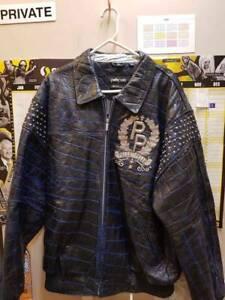 Pelle Pelle Live Like A King Leather Jacket size 50