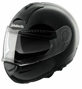 Schuberth C3 Basic Gloss Black Flip Up Motorcycle Helmet 61 XL