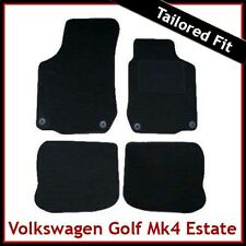 Volkswagen VW Golf Estate Mk4 1999-2006 Tailored Carpet Car Floor Mats BLACK