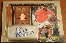Patrick Kluivert 2015 SELECT SOCCER HISTORIC SIGNATURES AUTO ENGLAND 001/199