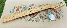 Fender Starcaster Stratocaster Strat Maple Guitar Neck w/ Tuners, Plate & Screws