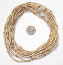 Mali Clay Beads 4 Strands 4mm African Brown Seed 30-32 Inch Strand Handmade