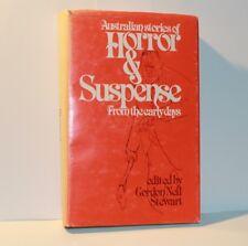 1978 Australian Stories Of Horror & Suspense Signed Edition Gordon Neil Stewart