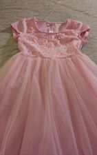 Justice girls sz 10 Pink Lace & Tulle Dress