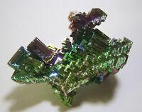 +++ Wismut Kristall // synthetisch +++ bismuth crystal Stufe Sammlung | Nr.8