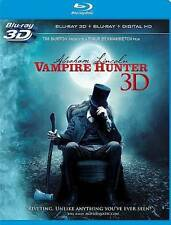 Abraham Lincoln: Vampire Hunter (Blu-ray/DVD, 2015, 2-Disc Set, Canadian 3D)