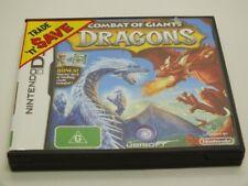 !!! NINTENDO DS SPIEL Combat of Giants Dragons AUS GUT !!!