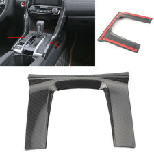 1x Special Nice Shift Gear Panel Trim Cover Black For Honda Civic 2016-2018 10th
