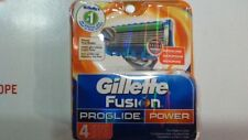Gillette Fusion ProGlide Cartridges Power - 4 Ct., Pack of 5