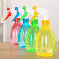 500ml Clear Plastic Empty Spray Bottles Refill Mist Pump House Cleaning Watering