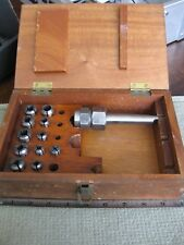 2MT Chuck Collet Set for Lathes with 11 Collets with Fitted Wooden Case