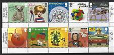 GREAT BRITAIN 2017 CLASSIC TOYS  SET OF 10 IN 2 STRIPS WITH SALE DATE