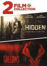 Hidden/The Gallows (DVD, 2017)  Halloween Horror