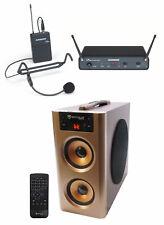 Samson Concert 88x 100-Channel Wireless Headset Microphone mic+Speaker - D Band