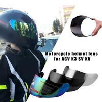 Motorcycle Wind Shield Fit For AGV K5 K3 SV Helmet Lens Face F4G6 Full V3I8