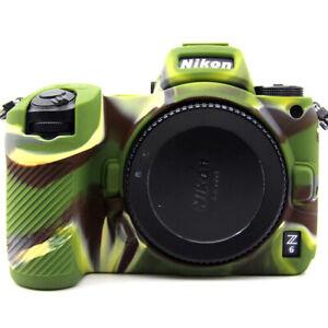 Camera Bags Rubber Silicon Case Cover Skin for Nikon Z7 Z6 Camera Soft Z 7 6