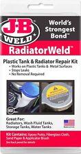 Radiatorweld Plastic Or Metal Tank Epoxy Repair Kit Radiator Leak J B Weld 2120