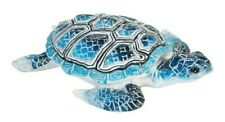 Gallerie Ii Aquarius Blue Sea Turtle Nautical Coastal Tropical Figurine Lg