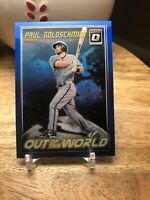 2018 Donruss Optic Out of This World Blue #12 Paul Goldschmidt /149
