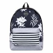 ROXY Sugar Baby Backpack True Black Full Bicolys ERJBP03958-XKWW ROXY Schoolbag