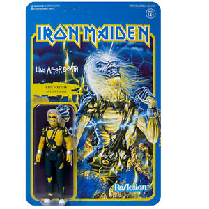 iron maiden live after death reaction action figure super 7