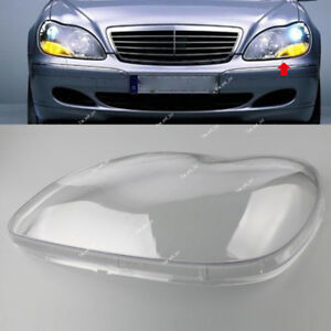 For Mercedes Benz W220 98-05 S-Class S500 Clear Lens Shell Cover Headlight Left