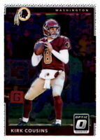 2017 Optic Kirk Cousins NFL PWE Base Washington Redskins #58