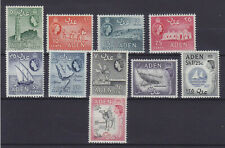 ADEN 1964, SG 77-86, COMPLETE SET, WMK 12, MNH VERY FINE