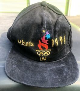 Olympic Games 1996 Atlanta Adjustable Authentic Baseball Style Cap With Tags!