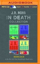 In Death Series Books 26-29  by J D Robb MP3 Audiobook Unabridged