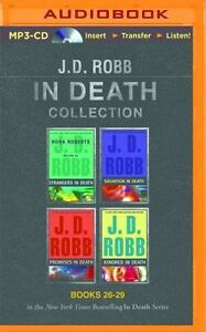 J D Robb In Death Collection 26 - 29 UNABRIDGED MP3-CD 51 Hours *NEW* FAST Ship!