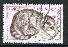 STAMP / TIMBRE FRANCE OBLITERE N° 1784 FAUNE / RATON LAVEUR DE LA GUADELOUPE