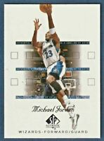2001-02 SP Authentic #90 Michael Jordan