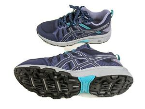 Asics Gel Venture 7 Womens US 10 Wide EUR 42 Blue Walking Shoes