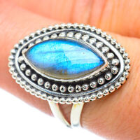Labradorite 925 Sterling Silver Ring Size 8 Ana Co Jewelry R56896F