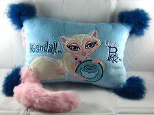 Bratz Catz Kendall Blue Pillow Plush Stuffed Kitty Cat/Animal/Pet Room Deco