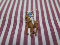 Ralph Lauren Mens Cotton Red White Striped Polo Pony Classic Fit Casual Shirt XL