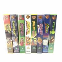 8x Scooby Doo Vhs Vintage Video Joblot Bundle -Childrens Videos Fast Shipping