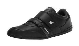 Lacoste Men's Misano Strap 0721 Shoes 7-41CMA004502H - Black/Black