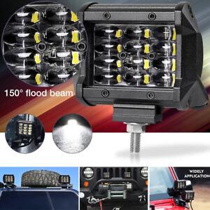 Waterproof 12V 36W LED Light Bar Driving Fog Flood Work Lamp + Bracket Tool 1Pcs