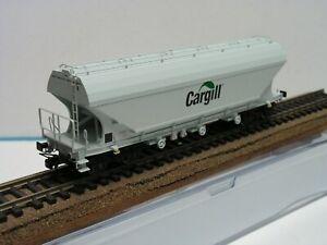 TRIX - WAGON TREMIE CEREALIER Uagpps - FACES PLANES - CARGILL - SNCF