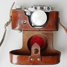 Leica III 1939 327267 Summitar 50 2.0 - Spezialumbau Synchro + Drahtauslöser -