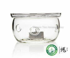 Flat Bottom Clear Glass Teapot Tealight Warmer B-202B