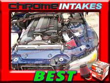 K&N+BLACK RED 95-98 99 BMW M3 3.0 3.0L/3.2 3.2L I6 E36 AIR INTAKE INDUCTION KIT