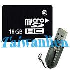 OEM 16GB 16G Class 10 Micro SD Micro SDHC TF Flash Memory Card + R2