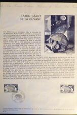 FRANCE MUSEE POSTAL FDC 28-74   TATOU GEANT DE LA GUYANE  0,65F   CAYENNE   1974