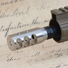 TriPortSS Muzzle Brake .223/5.56/.22 1/2x28 TPI Stainless Compensator w/CW MB02