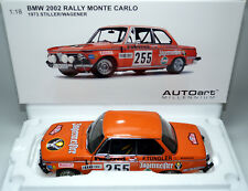 BMW 2002 e10 Jägermeister Rally Monte Carlo 1973 255 Stiller Autoart 87345 1:18